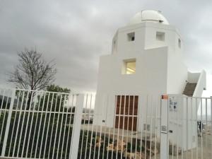 El edificio del Observatorio de Puig des Molins. Foto: L.A.