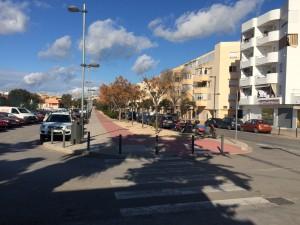 Imagen de la Avenida de Sant Jordi.