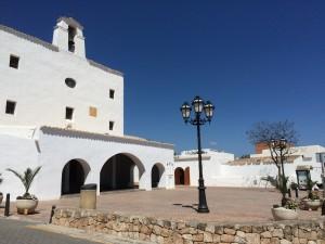 Imatge de l'esglèsia de Sant Josep. Foto: L.A.