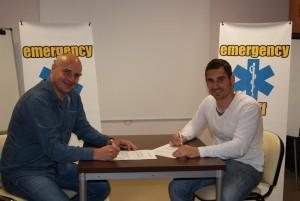 La Asociación Ocio de Ibiza y Emergency Staff.