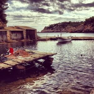 Una de las imágenes tomadas por la blogger en Santa Eulària