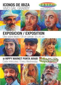 Cartel promocional de la exposición