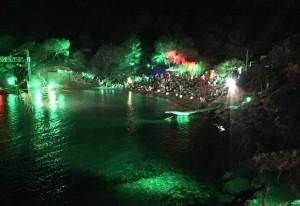 Imagen de la celebración que se prolongó durante la tarde y la noche.