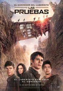 Imagen promocional de la película El corredor del Laberinto. Las Pruebas