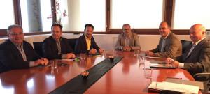 Imagen del Consell de Alcaldes celebrado en Can Botino.