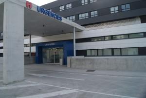 El acceso a Urgencias del hospital Can Misses.