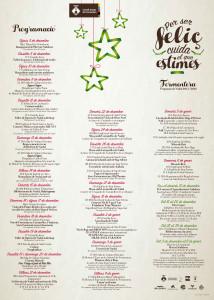 Programa de Navidad completo en Formentera