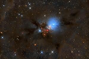 La fotografía premiada por la NASA y realizada con el telescopio de Cala d'Hort.