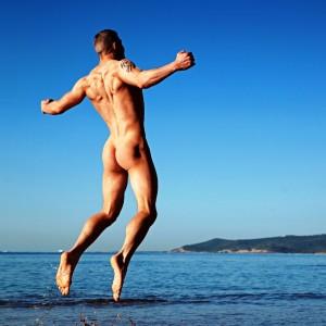 Una de las fotografías que podrán verse en el libro 'Naked Ibiza'. Foto: Dylan Rosser