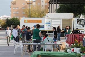 Tallers de reciclatge a la plaça Albert i Nieto