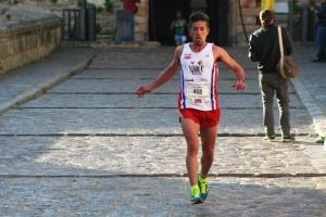 Chechu Sánchez, en la bajada del Rastrillo, en la edición del pasado año.
