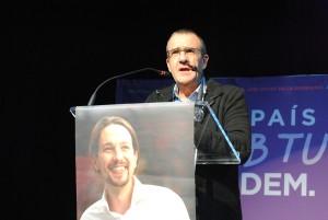 El juez Yllanes, número 1 en la lista de Baleares al Congreso por Podemos.