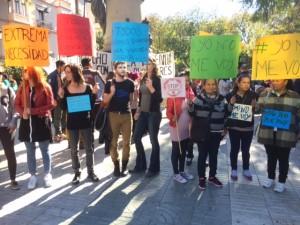 Protesta en Vara de Rey contra los alquileres abusivos