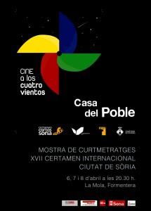 cartel CINE 4 VIENTOS Casa del Poble.2