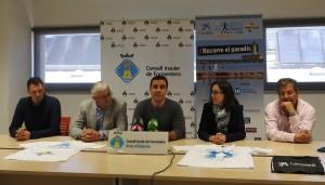 Imatge de la presentació de la mitja marató de Formentera.