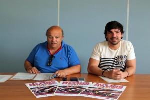 Toni Roig i Agustín Perea, a la presentació d'aquest matí.