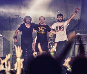 Un concierto de Berri Txarrak. Foto: Instagram