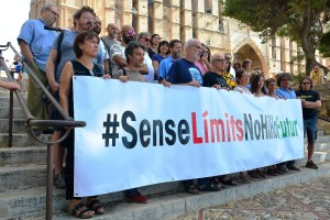 Una imagen de la presentación este sábado del manifiesto 'Sin límites no hay futuro'.