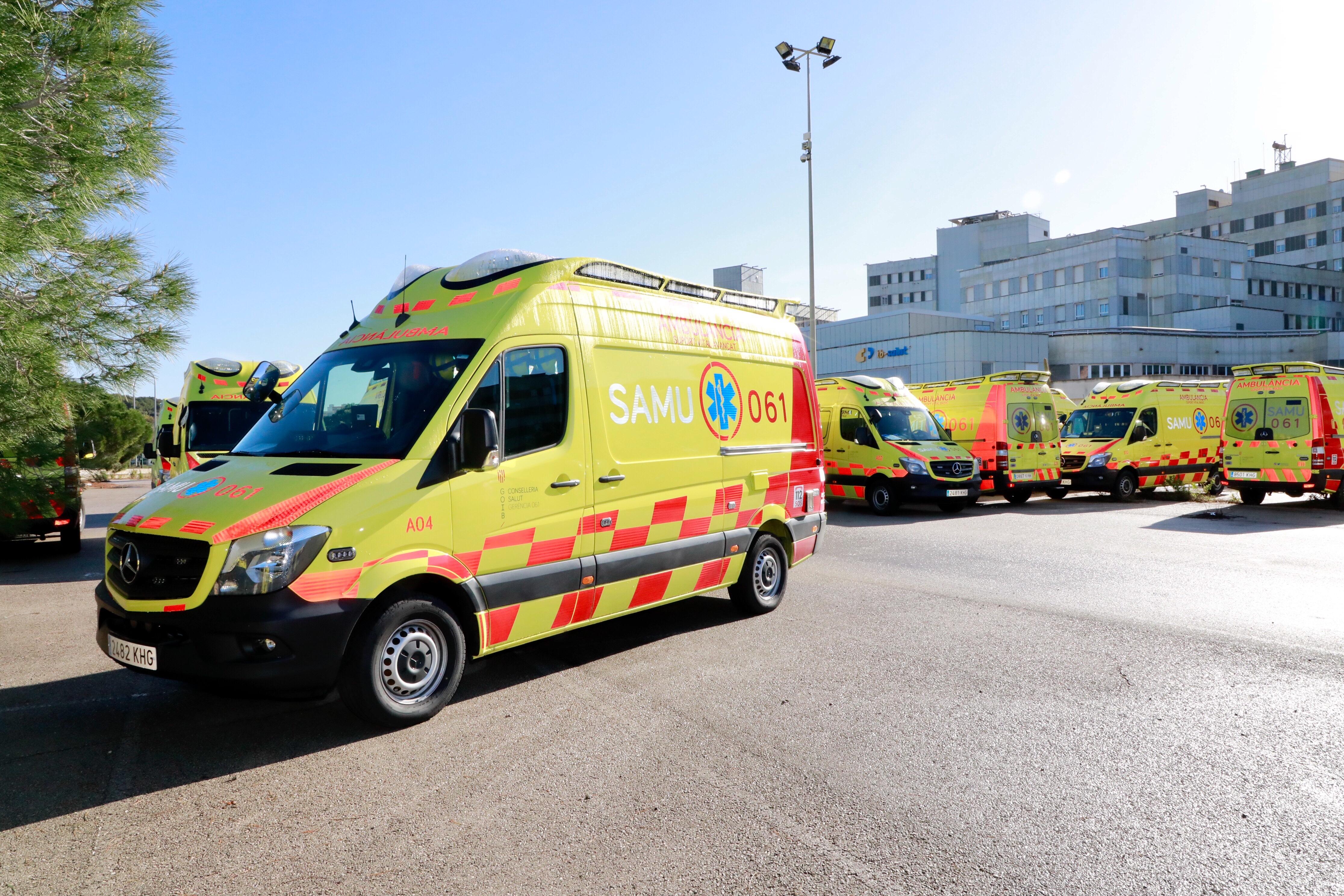 El govern asegura que los conductores de ambulancias - Transporte islas baleares ...