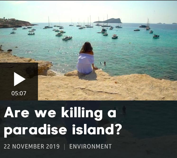 '¿Estamos matando una isla paradisíaca?': La BBC denuncia la destrucción de Ibiza en un documental