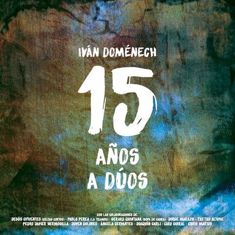 Portada del nuevo disco con fines benéficos de Iván Doménech.